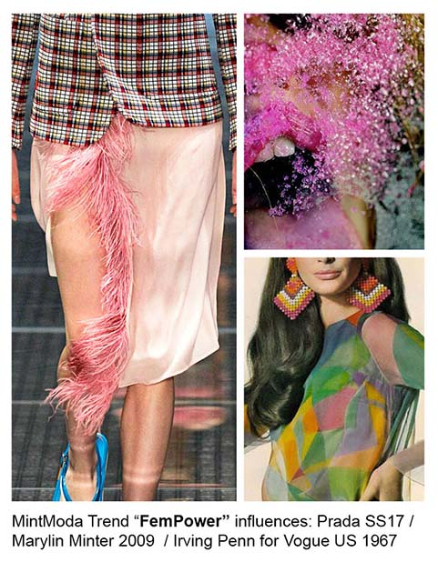 MintModa provides a fashion trend forecast for spring 2018.