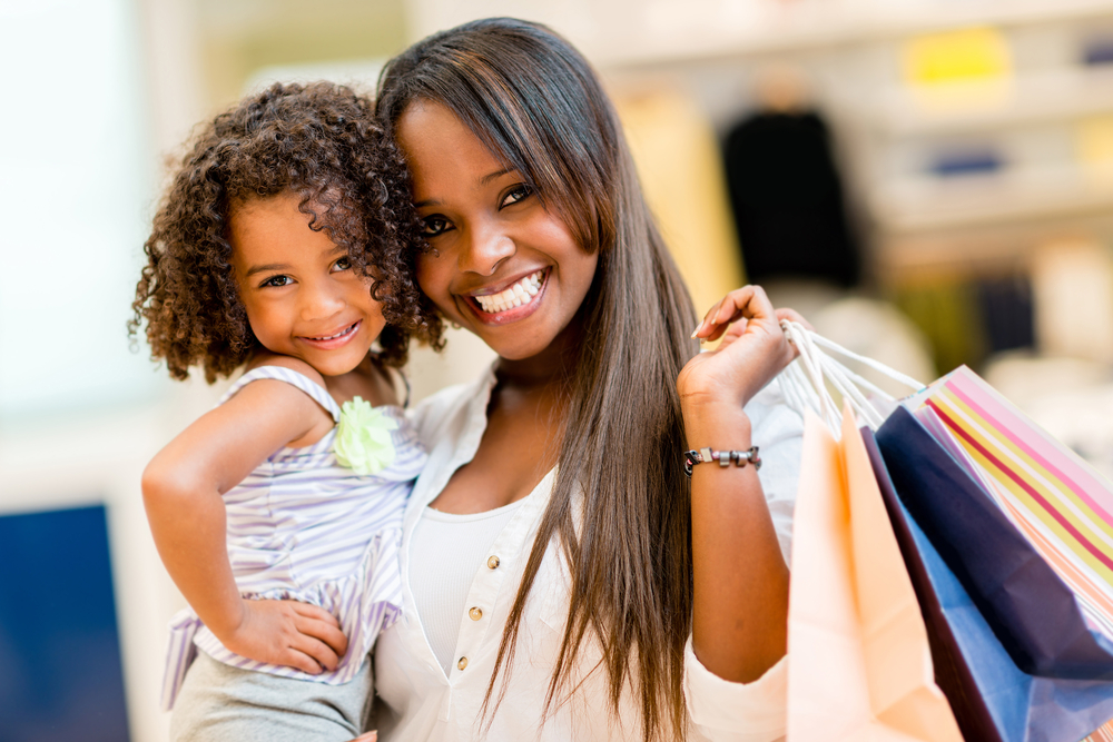 Clothing stores for young moms