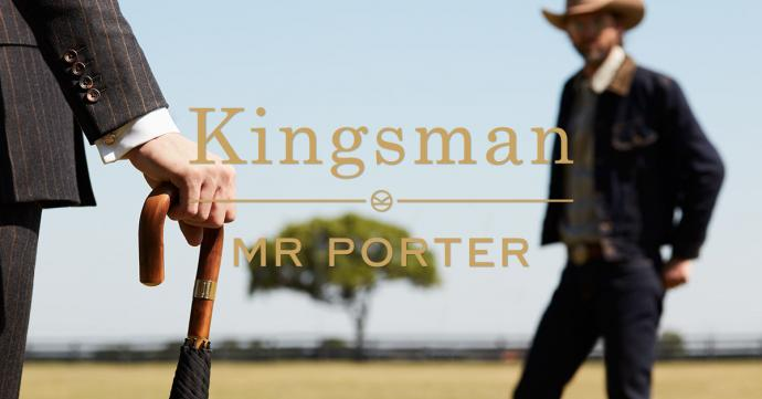 """MR PORTER the award-winning online destination for men's style and acclaimed filmmaker Matthew Vaughn launched a second """"costume to collection"""" collaboration of men's wear label, Kingsman, developed and inspired by the upcoming 20th Century Fox film, Kingsman: The Golden Circle in theatres from Sept. 22."""