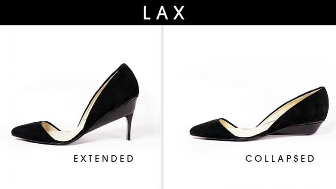 46b1167a8a7 Form and Function: These High Heels Transform Into Flats to Keep ...