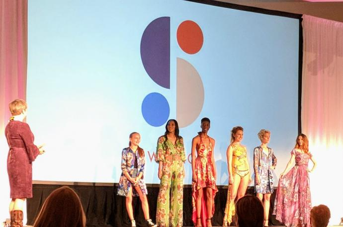 Designer Ariel Swedroe presented select swimwear styles at Gerber Ideation in November.