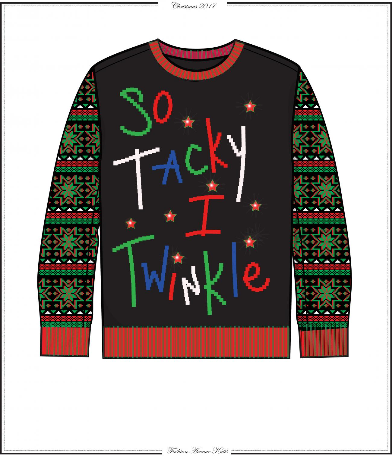 How Fashion Avenue Knits Cranks Out Ugly Christmas Sweaters With ...