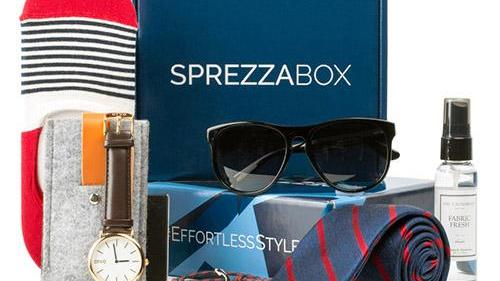 The men's accessories boxes are typically only sold as a subscription onsprezzabox.combut will now be availableat Macy's for purchase on an individual basis.
