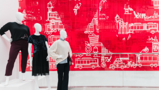 Target Corporation unveiled the company's newest small-format store in Midtown Manhattan's Herald Square, one of 12 new stores opening across the country this week.