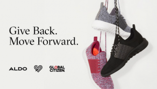 """Heading into the holidays,fashion footwear and accessoriespowerhouseAldois joiningforces withGlobal Citizen,agame-changing international advocacy organization, to support """"Education for All."""""""