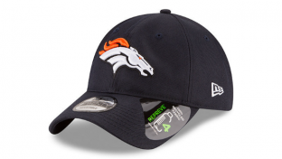 Retailing for $34.99 for the 9FIFTY and $24.99 for the 9TWENTY silhouette, each Denver Broncos hat is made using four plastic bottles.